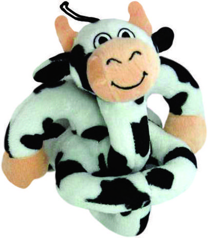 Loopies soundchip mooing cow - dog toy