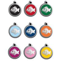 Red Dingo Cat Tag Fish