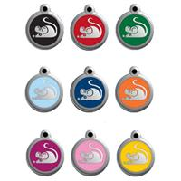 Red Dingo Cat tag mouse