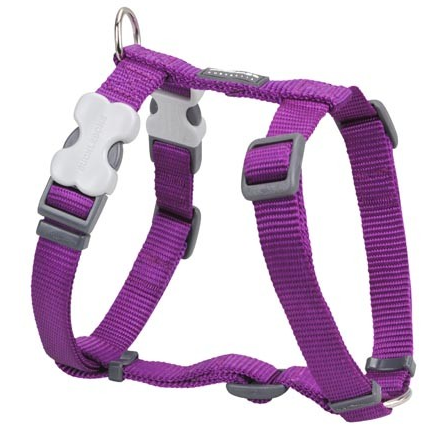 Red Dingo Dog Harness Classic Purple
